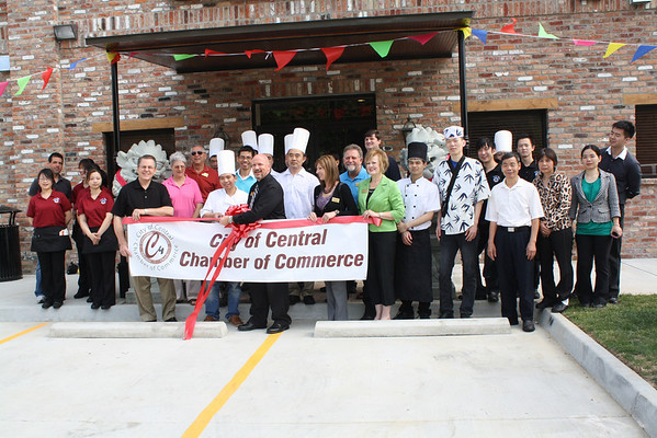 Central Buffet Ribbon Cutting