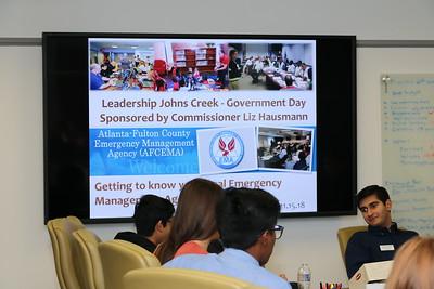 Leadership John's Creek Student visit_11_15_2018