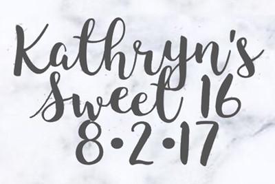 2017-08-07 Kathryn's Sweet 16