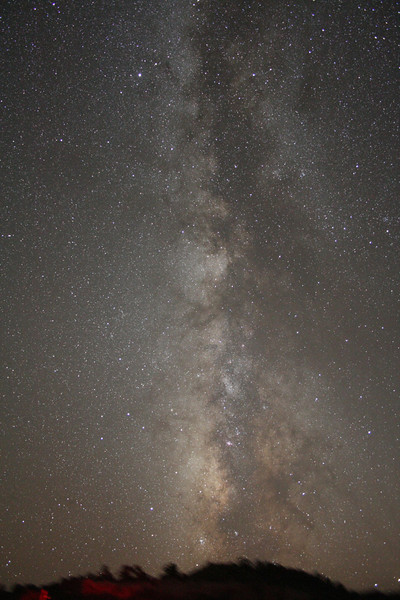 A-DS-David Cotterell-Milky Way From Okie Tex