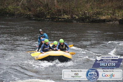 Splash Rafting River Tay 2019