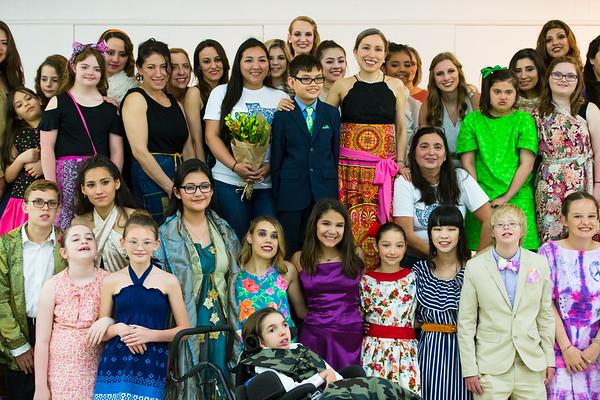 Marisol Deluna Community Fashion Show