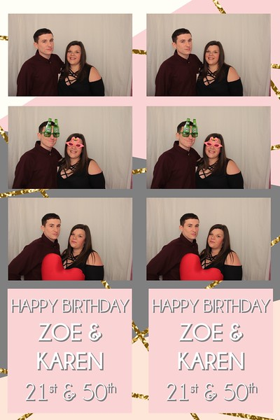 15.07.17 Zoe and Karens 21st & 50th