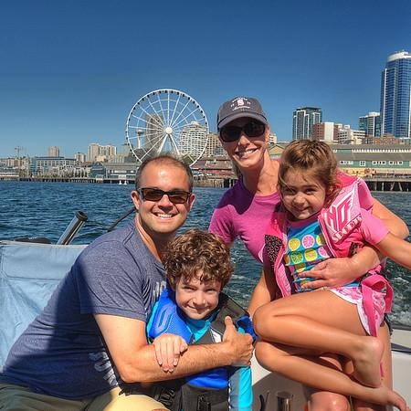 2014 Boating on Elliot Bay