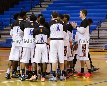 Boys Varsity Basketball v McLean 2/19/15
