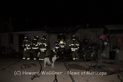 19900 N Condrey Ave fire. Puppies lost