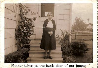 Old Photographs for Mom-Mom Douglas