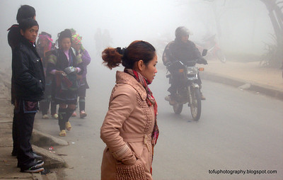 A miserable morning in Sapa - January 2102