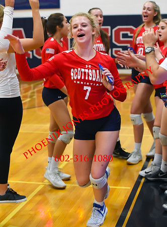 10-17-2017 - Scottsdale Christian v Arizona Lutheran Academy - Volleyball