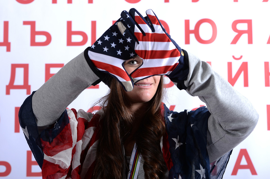 . Freeskier Keri Herman poses for a portrait during the USOC Media Summit ahead of the Sochi 2014 Winter Olympics on October 1, 2013 in Park City, Utah.  (Photo by Harry How/Getty Images)