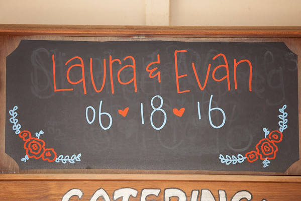 Evan Laura Reception