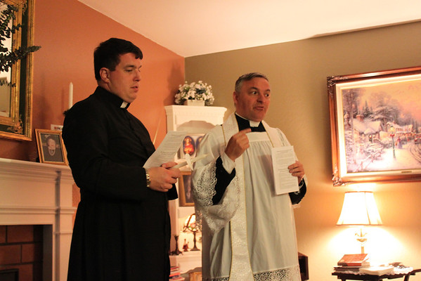 Connolly Residence Enthronement