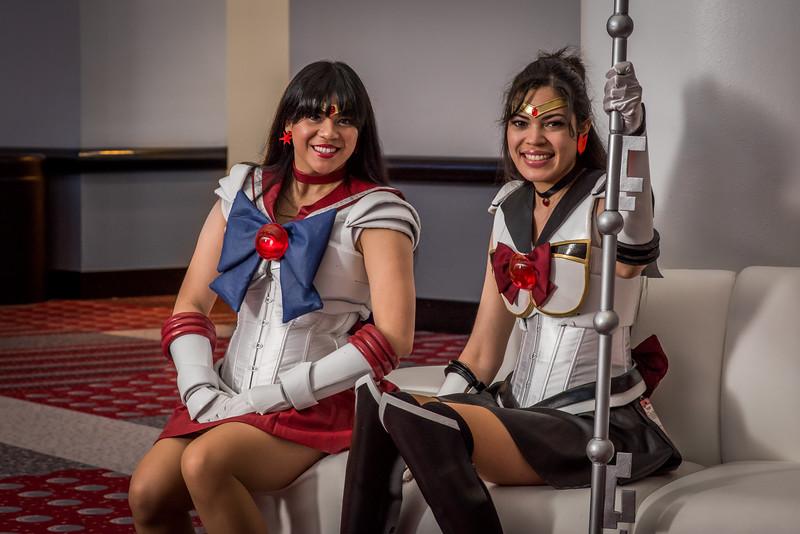 Sailors Mars and Pluto