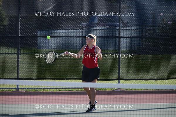 2019 Tennis Season--High School Girls