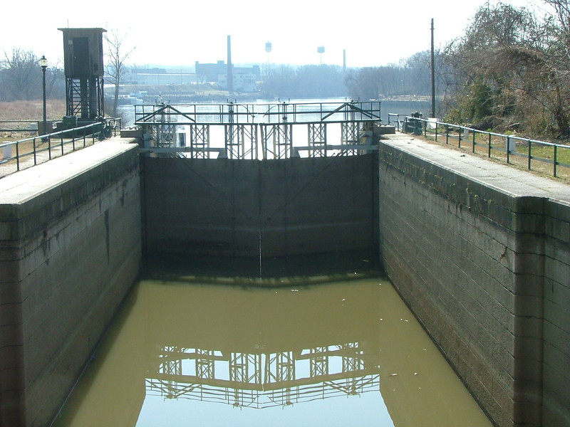 lock before the James