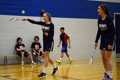 SMS Junior Badminton City Championships 2015 - Wednesday May 6, 2015