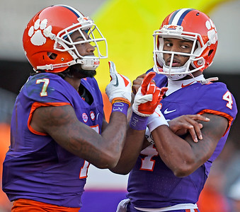 Clemson vs Syracuse, Action And Tailgating