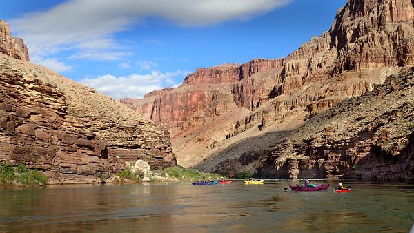 Maya rafting Grand Canyon
