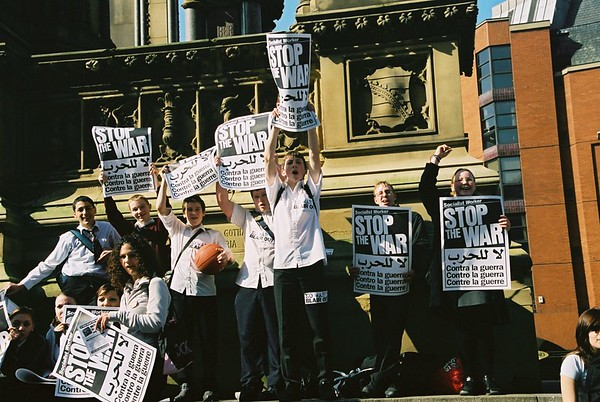 School Students Strike against the War 19th March 2003