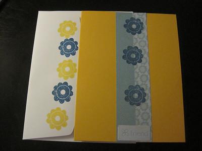 Card making - April 2010