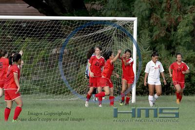Iolani Girls JV Soccer - P5 12-11-13