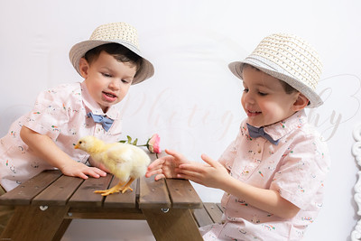 Kaiden & Lukas Easter