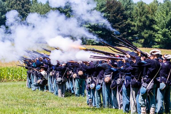Waynesboro Civil War Reenactment: Sunday
