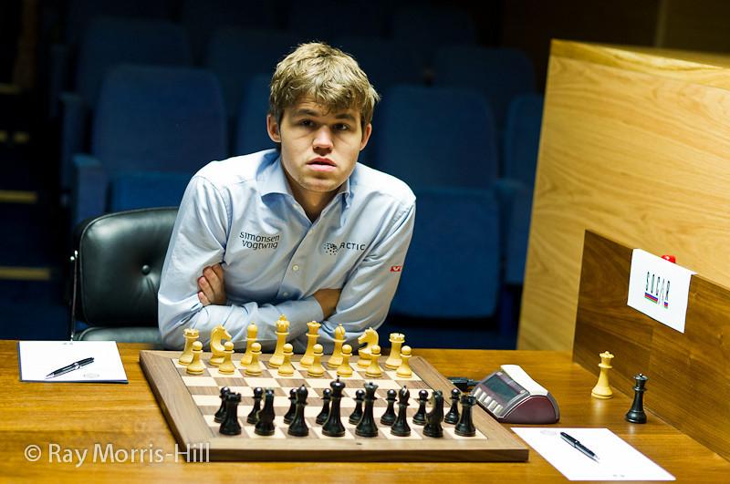 Round 14: Magnus Carlsen