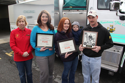 Toys For Tots Appreciation, Hometown Fire Company, Hometown (2-23-2013)