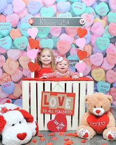 Madison & Scarlet Valentine's Day 2018