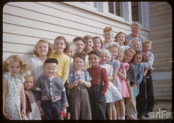 Scotsguard school and students.  Scotsguard.  09/11/1951