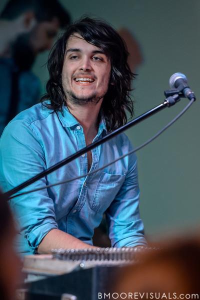 Sean Curran of Bellarive performs on April 15, 2012 at First United Methodist Church in Dunedin, Florida