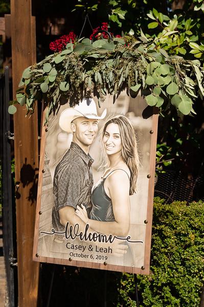 Leah & Casey Wedding