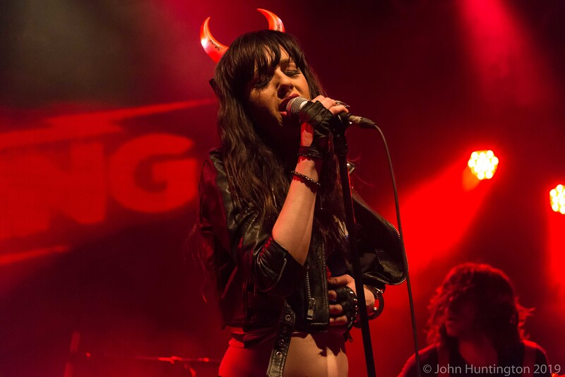 The Deafening Featuring Lena Hall At The Highline Ballroom, February 10, 2015