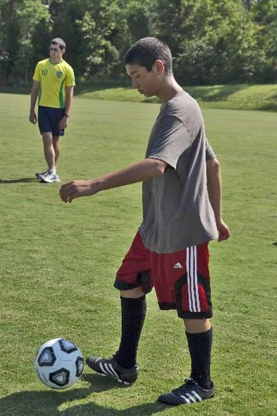 Jeremy kicking