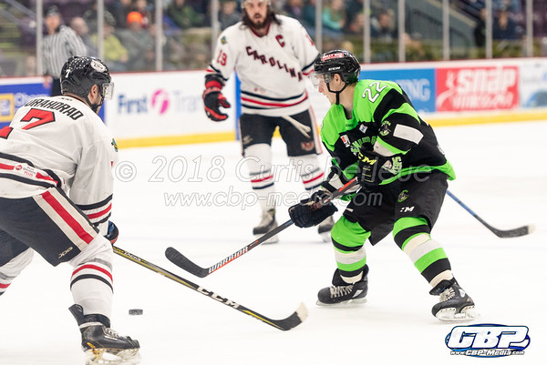 Elmira Enforcers vs. Carolina Thunderbirds 2/24/19