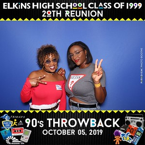 October 05, 2019 - Elkins High School Class of 1999 20th Reunion