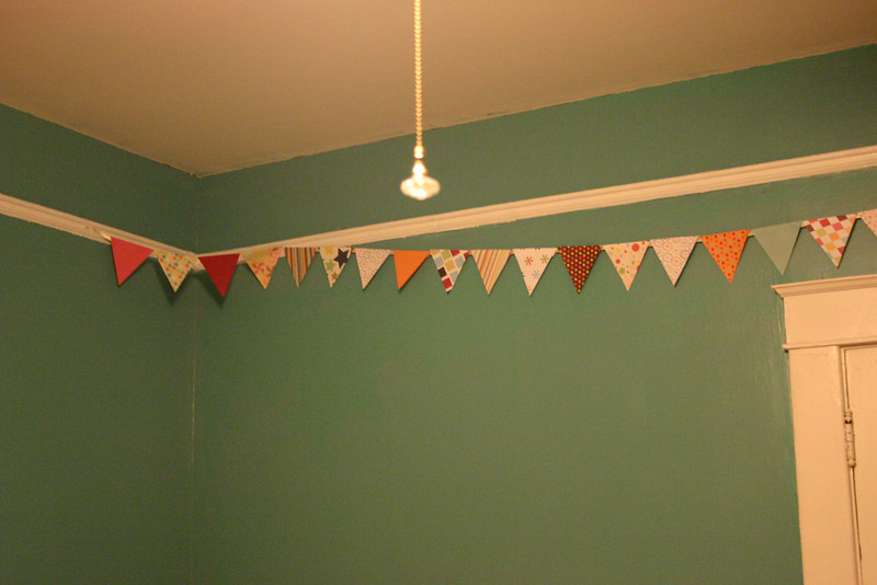 Flags in the nursery