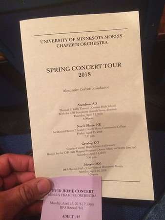 UMM Chamber Orchestra Concert