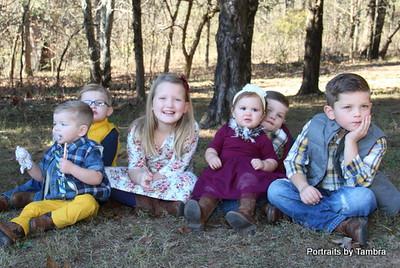 Huey family Grandchildren