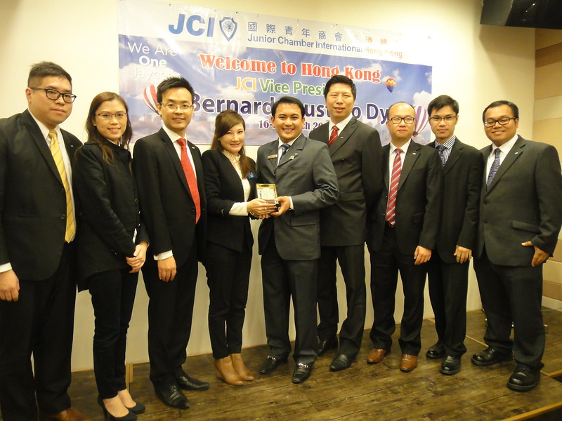20130316 - JCI VP Welcome Reception Dinner