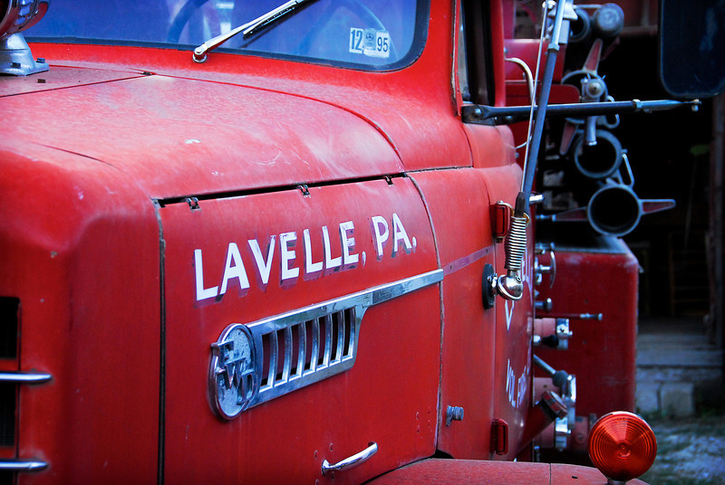 2011/8/26 – I was driving and saw this old 50's fire engine. Why there would be an old fire engine form Pennsylvania here in Utah, I don't know, but it was in front of an old antique shop. I served my mission in Pennsylvania so I'm fond of anything that comes from that part of the country.