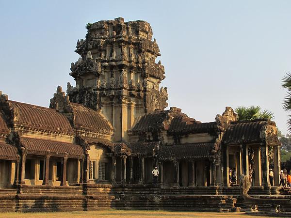 Angkor Wat, at the first inner wall.