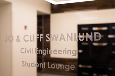 Civil Engineering Lab Dedication - Conner/Cure/Casteel/Swandlund