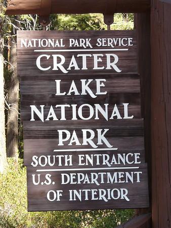 2010 Crater Lake National Park, Oregon