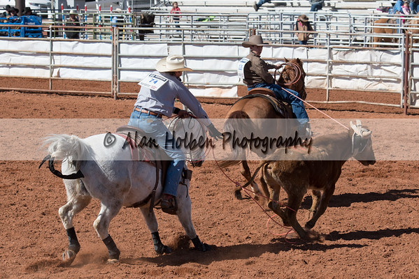 2018 Junior High Rodeo (Saturday) - Team Roping