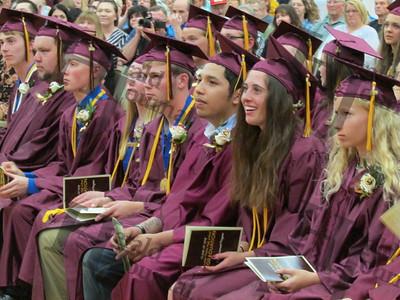 Lester Prairie graduation 2018