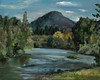 """Willamette in the Spring-Borcherding, 16""""x20"""" oil on stretched canvas"""