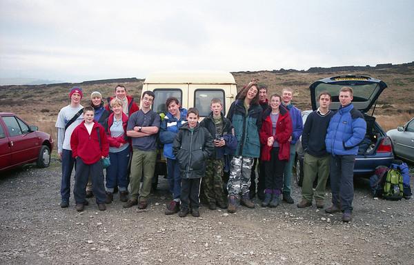 2000-01-02 Hike Around Errwood Reservoir & Hall
