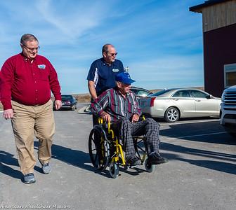 Pine Ridge Reservation Wheelchair Distribution